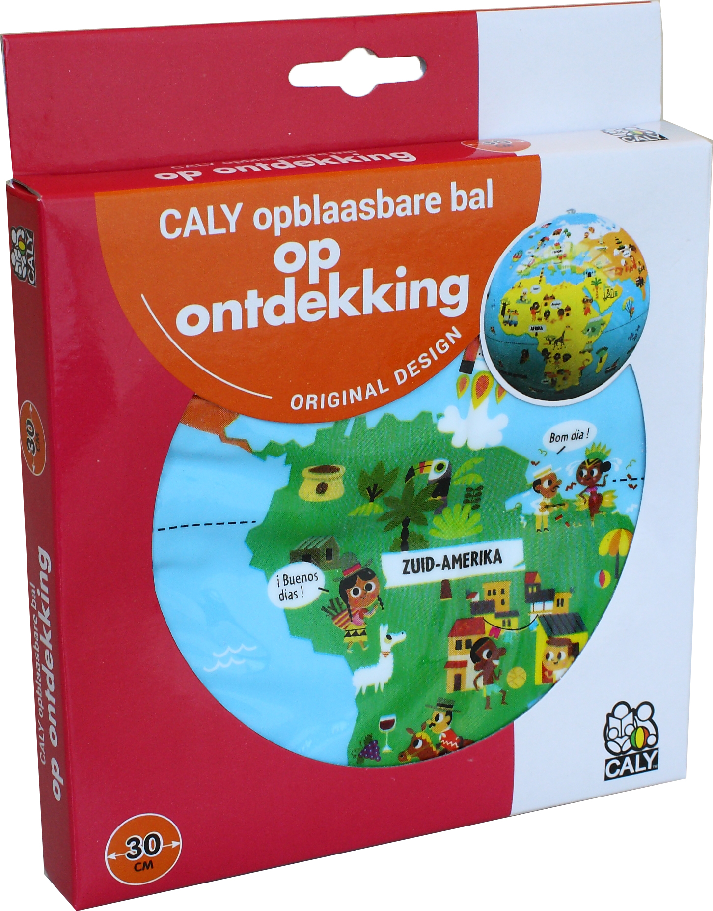 Caly Toys op ontdekking Globe 30 box