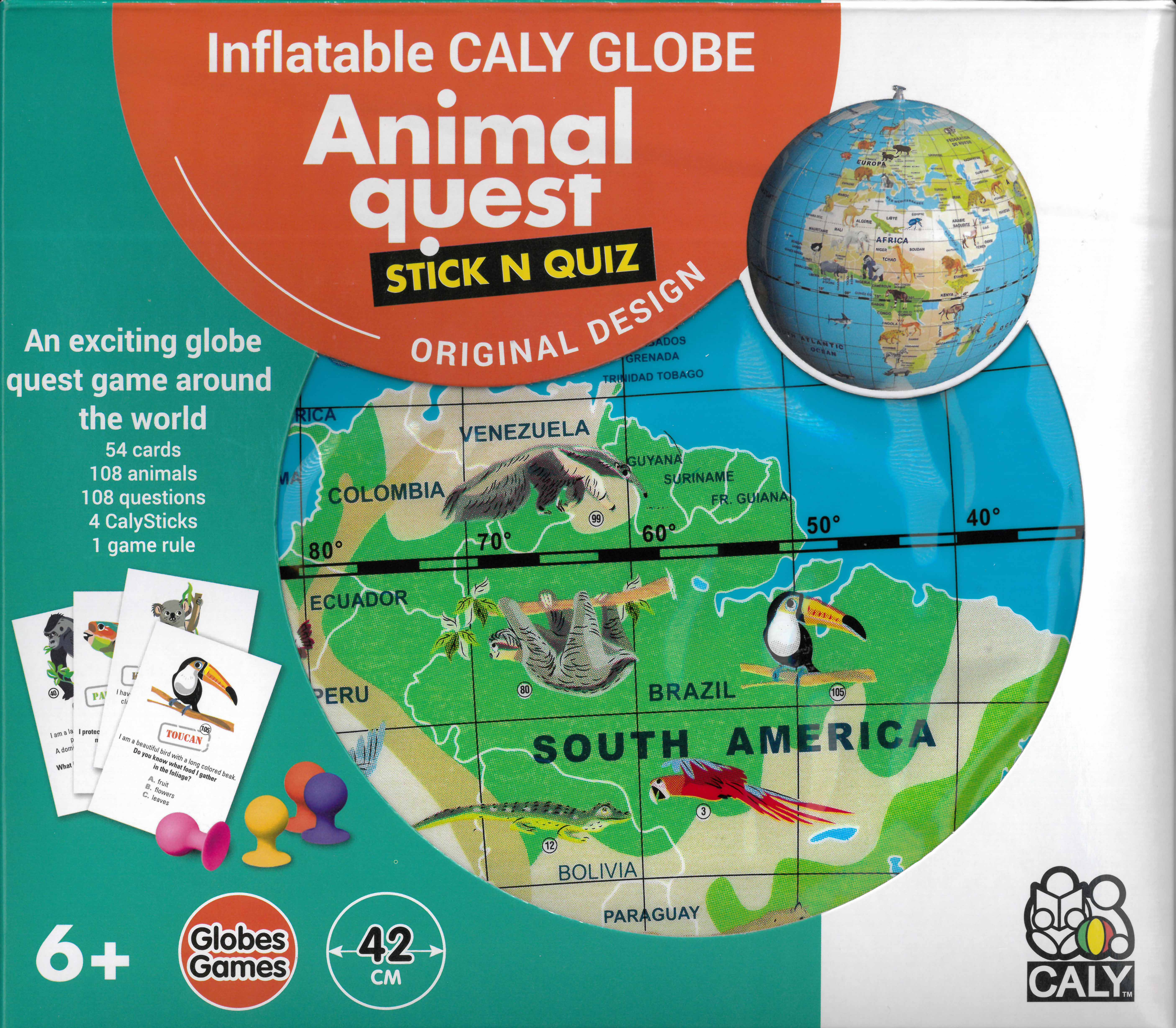 Caly Toys animal quest 42 box