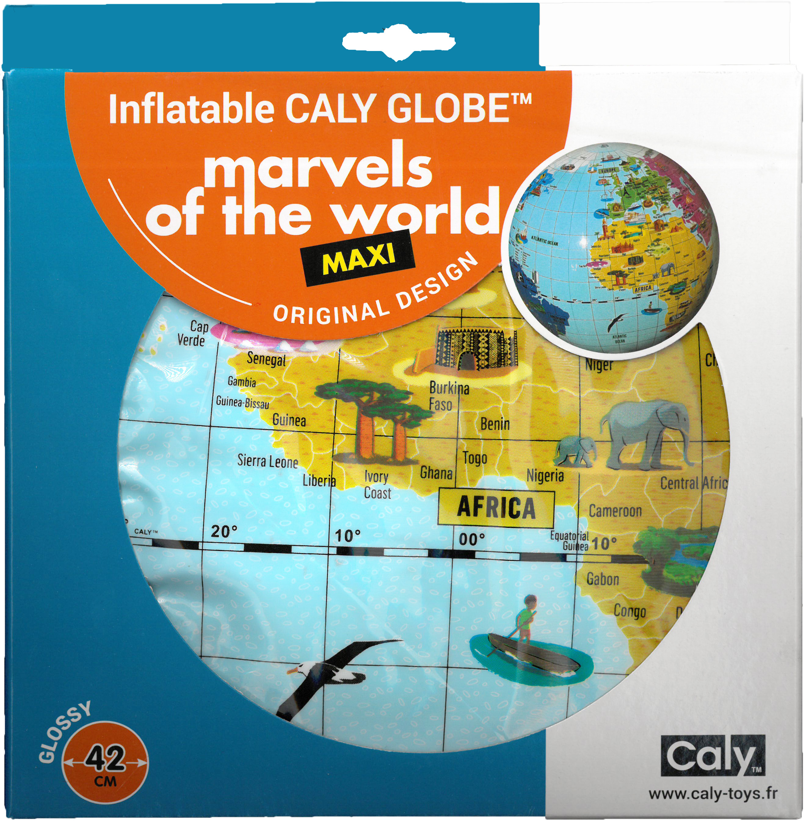 Caly Toys Marvels of the World 42 box