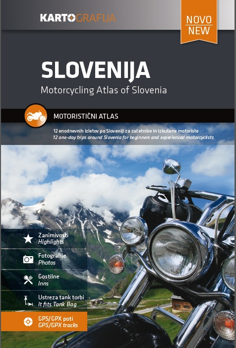 Slovenia Motorcycle atlas