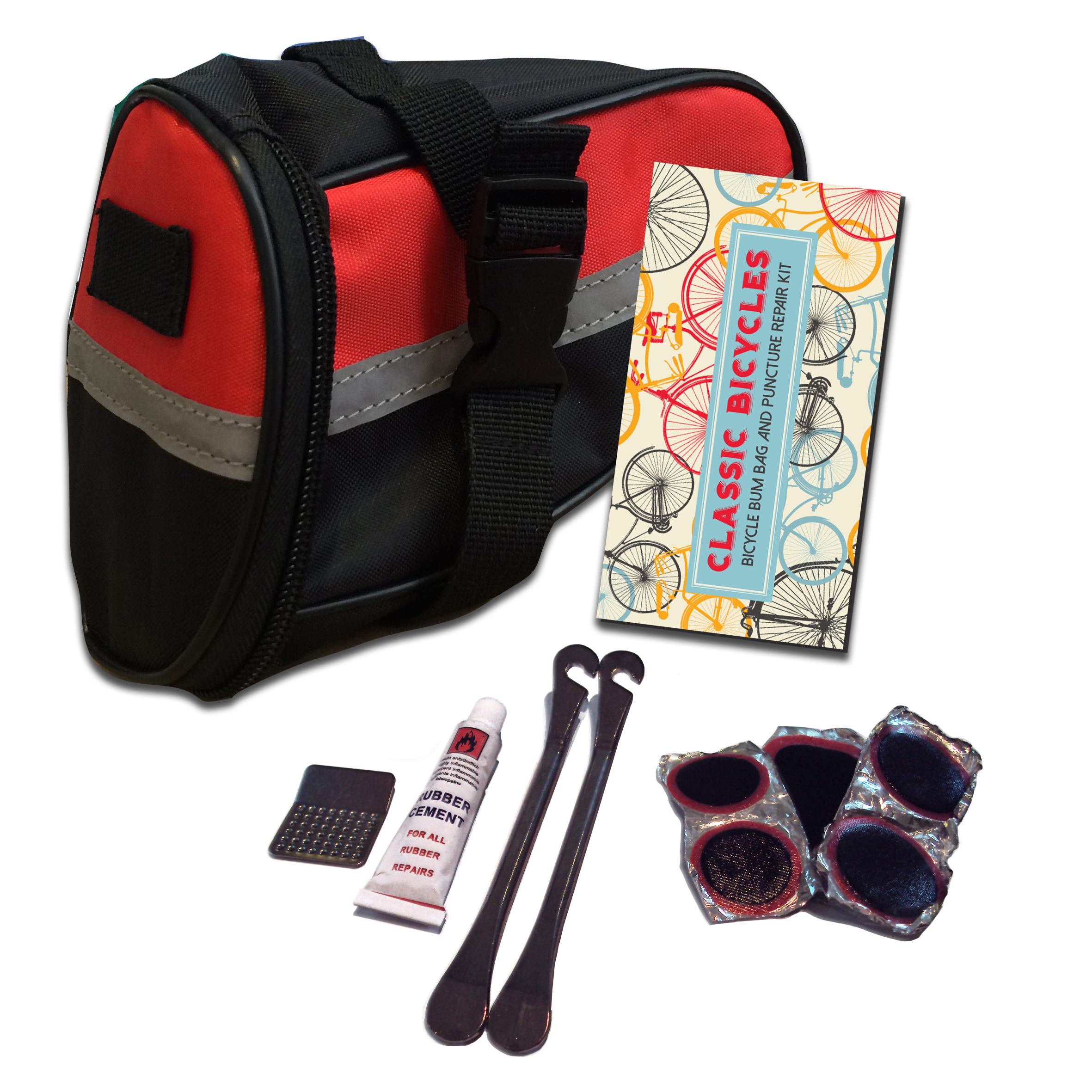 Bum bag & repair kit