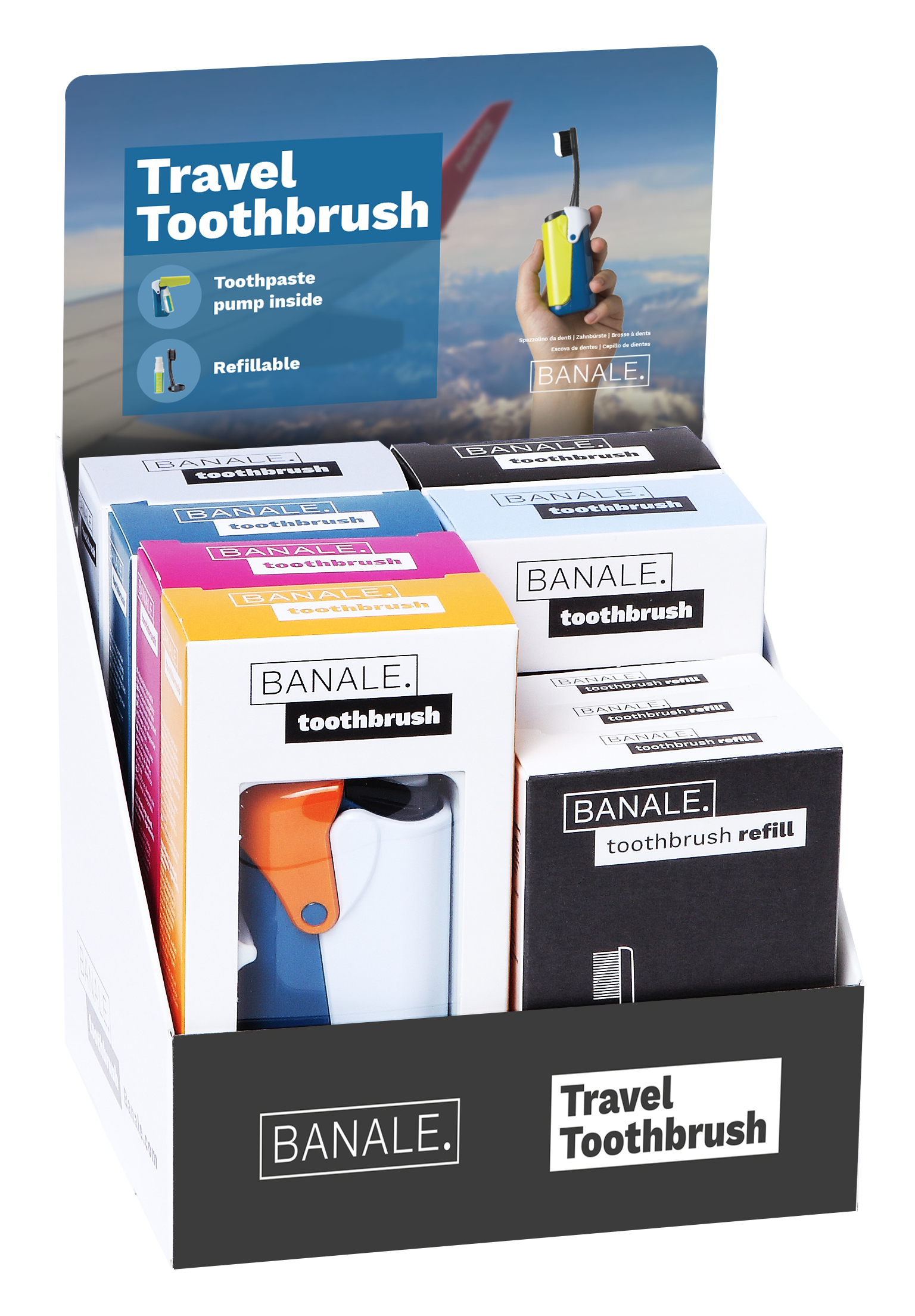 Toothbrush starter kit