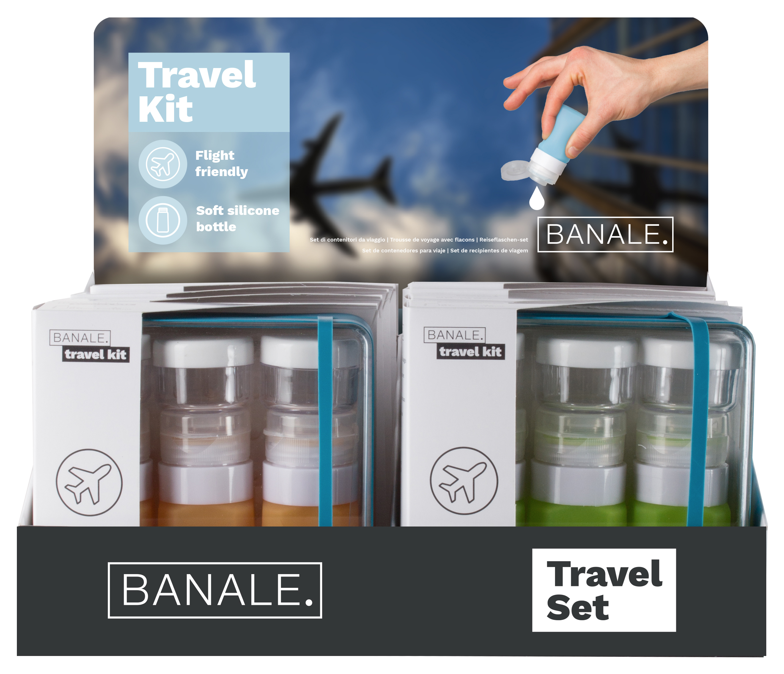 Travel kit starter kit