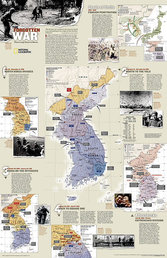 Korea North & South the forgotten war