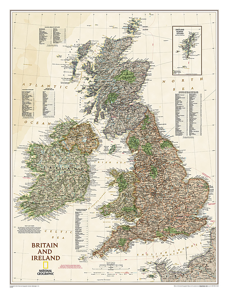 Britain & Ireland (antique)