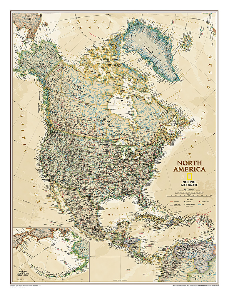 America North  political antique (executive)