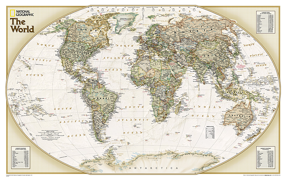 World political explorer antique (explorer)