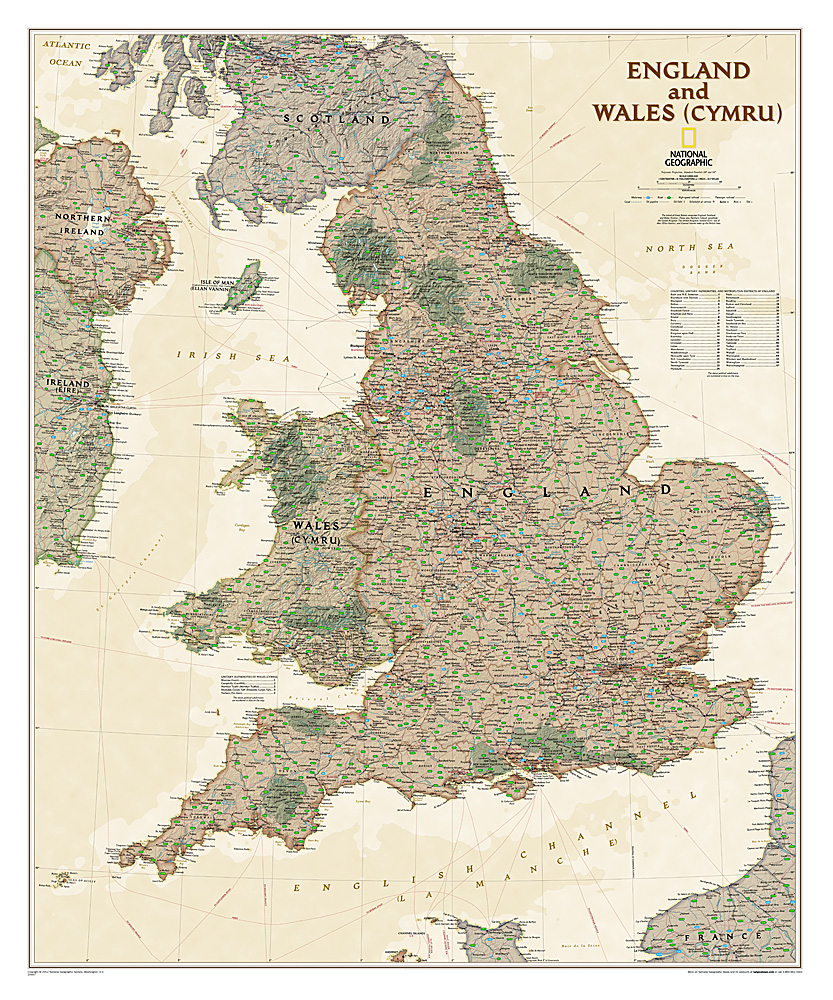 England and Wales (antique)