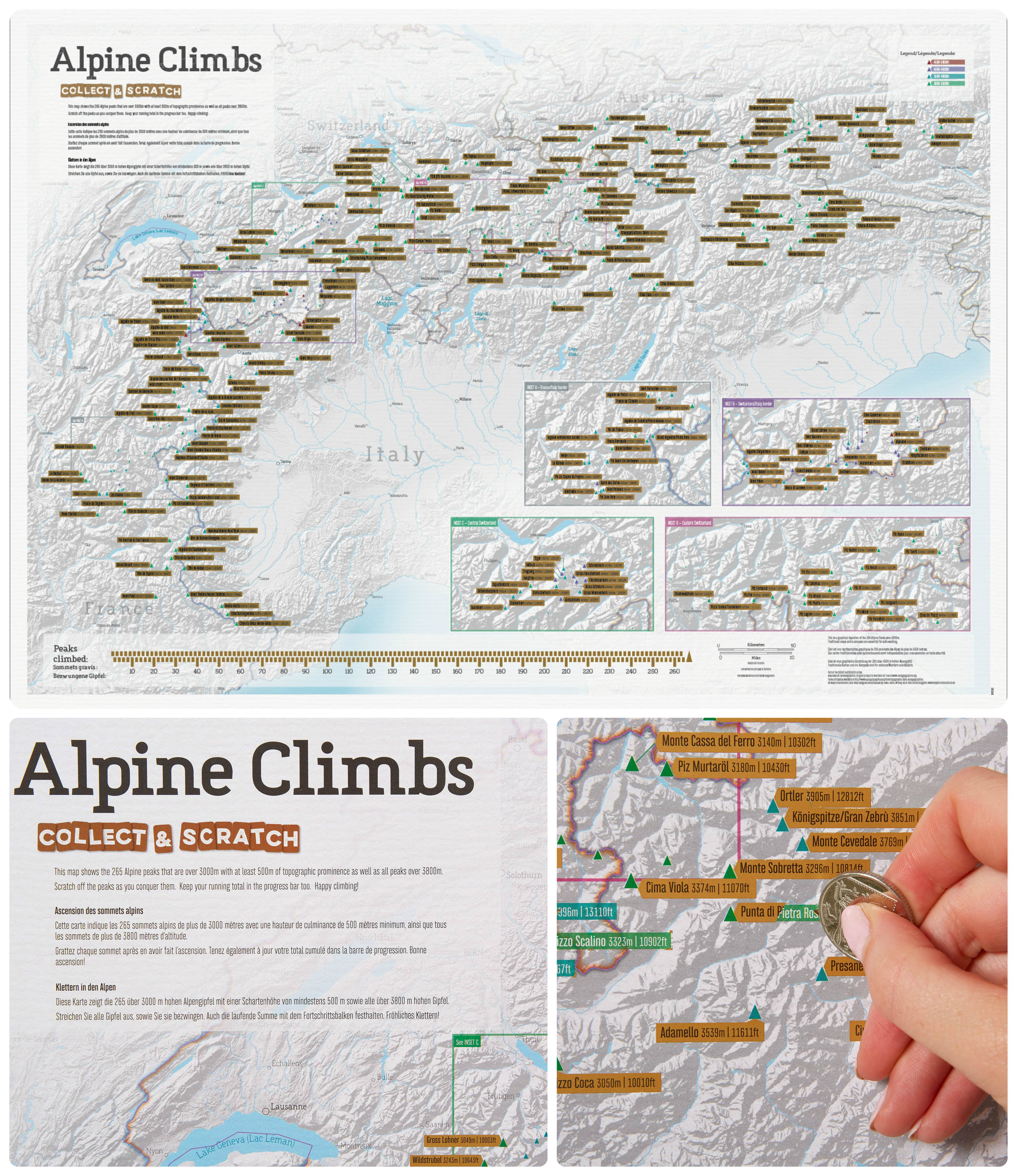 Alpine Climbs Collect & Scratch