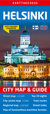 Helsinki City Map & Guide
