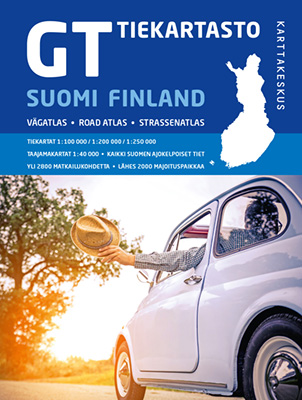 Road atlas Finland