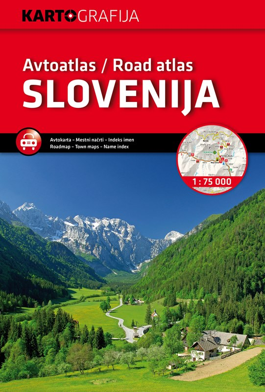Slovenia Road Atlas