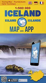 Iceland Road Guide touring map