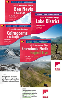 British Mountain Maps